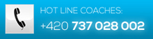 Hot Line Coaches: +420 737 028 022